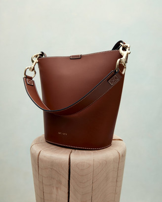 Jigsaw Veg Leather Kenton Bucket Bag