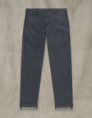 Belstaff OFFICERS CHINO TROUSERS Blue