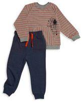 Petit Lem Kid's Two-Piece Sweater & Sweatpants Set