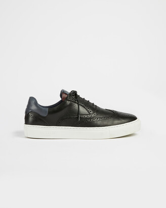 Ted Baker DENNTON Leather brogue trainers