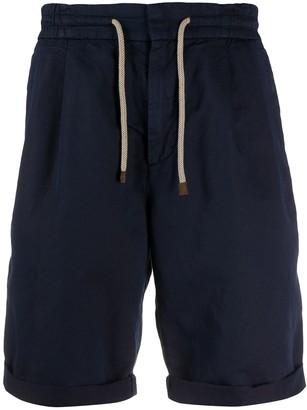 Brunello Cucinelli Mid Rise Chino Shorts