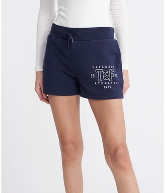 Superdry Cotton Mix Shorts with Elasticated Waist
