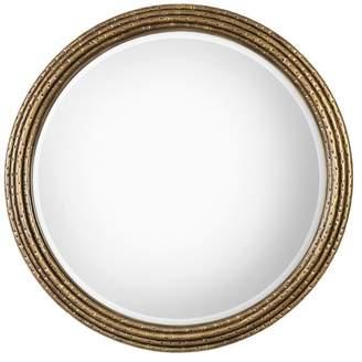 Uttermost Spera Round Gold Mirror