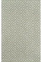 "Momeni Madcap Cottage By Palm Beach Brazilian Avenue Handwoven Flatweave Green Indoor/Outdoor Area Rug Madcap Cottage by Rug Size: Rectangle 7'6"" x 9'6"""