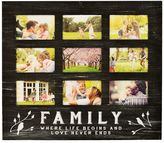 New View ''Family'' 9-opening Collage Frame