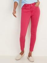 Old Navy High-Waisted Pop-Color Rockstar Super Skinny Ankle Jeans for Women