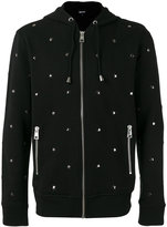 Just Cavalli star stud hooded sweatshirt - men - Cotton/Metal (Other) - M