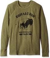 Lucky Brand Men's Buffalo Run Graphic Thermal