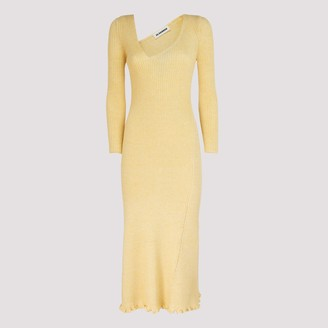 Jil Sander Ribbed Dress