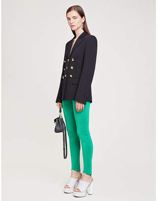 Givenchy Conversational-buttons collared wool blazer