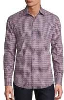 Robert Graham Friedrich 3D Geometric Shirt