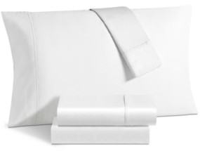 Sunham Avalon 500 Thread Count Sateen 6-Pc. California King Sheet Set Bedding