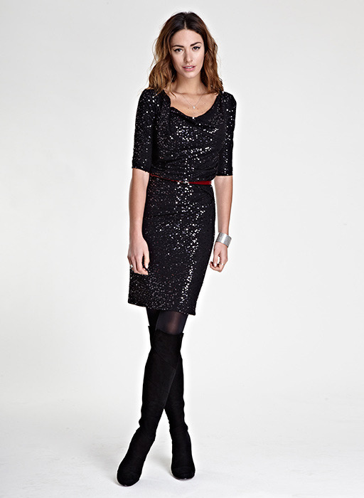 Isabella Oliver Kate Sequin Dress