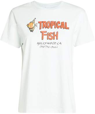 RE/DONE 70s Loose Tropical Fish T-Shirt