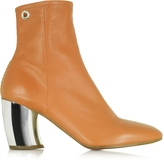 Proenza Schouler Tan Leather w/Mirror High Heel Boot