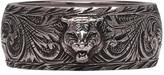 Gucci Silver Tiger Ring