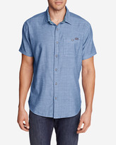 Eddie Bauer Men's Treeline Double-Weave Shirt