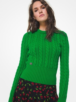 Michael Kors Cable Cashmere Sweater