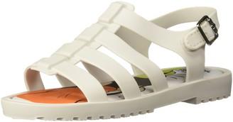 Mini Melissa Girls' Mini Flox + Disney Flat Sandal