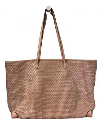 Fendi Roll Bag Pink Leather Handbags