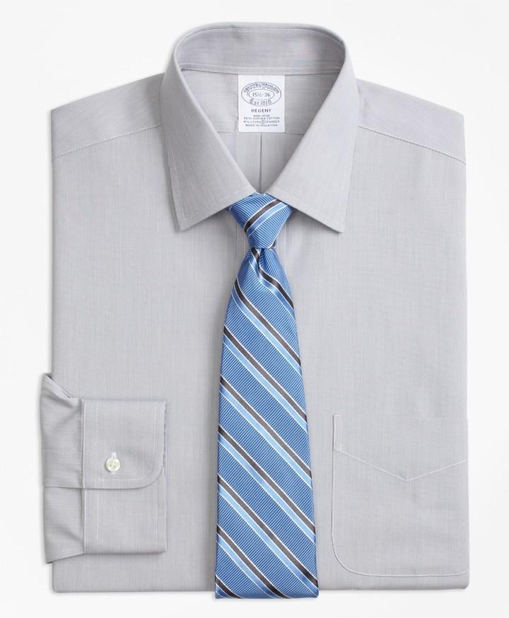 c4df089e Orange Shirte With Grey Stripes - ShopStyle