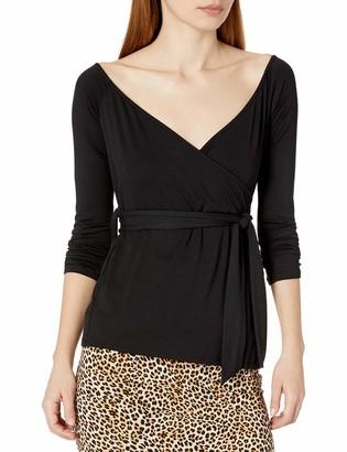 Rachel Pally Women's Long Sleeve Wrap Top