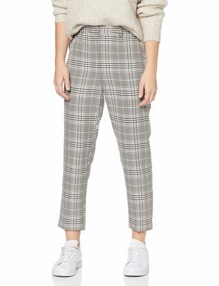 Dorothy Perkins Petite Women's Ac Sienna Printed Check Trouser