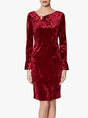 Gina Bacconi Cecilia Velvet Dress