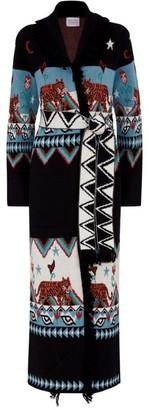 Hayley Menzies Wool Knit Tigress Coat