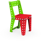Meccano Home - Kids Chair - Red/Green