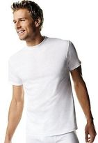 Hanes Men's TAGLESS ComfortSoft Crew Undershirt 4X-5X 5-Pack Men's Shirts