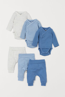 H&M 6-Piece Cotton Set