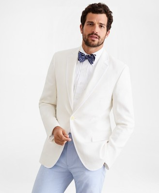 Brooks Brothers Regent Fit Linen Tuxedo Jacket