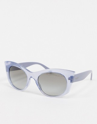Vogue lilac cat eye sunglasses