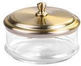InterDesign York Apothecary Small Bathroom Vanity Jar