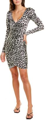 Caroline Constas Colette Silk-Blend Mini Dress