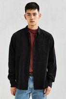 Urban Outfitters UO Tile Print Corduroy Button-Down Shirt