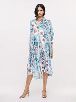 Diane von Furstenberg Davey Soft Voile Midi Dress