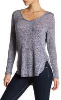 Hip Long Sleeve Cutout Sweater