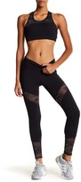 Threads 4 Thought Pellonia Colorblock Heathered Mesh Panel Leggings