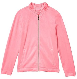 Lilly Pulitzer Mini Jayla Zip-Up (Toddler/Little Kids/Big Kids) (Prosecco Pink) Girl's Clothing