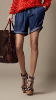 Burberry Lightweight Denim Shorts