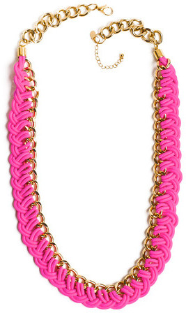 Knotty Gal Piece Of Cake Necklace Pink