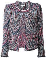 IRO tweed jacket - women - Cotton/Acrylic/Polyamide/Viscose - 36