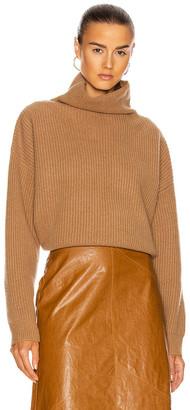 Isabel Marant Brooke Cashmere Sweater in Camel | FWRD