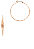 Kate Spade Get Connected Large Hoop Earrings