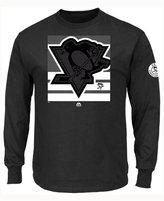 Majestic Men's Pittsburgh Penguins Slashing Long Sleeve T-shirt