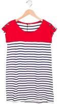 Junior Gaultier Girls' Nautical Striped Dress w/ Tags