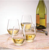 Lenox Stemware, Tuscany Classics Stemless White Wine Glasses, Set of 4