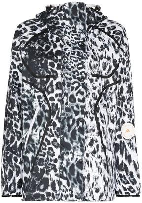 adidas by Stella McCartney Leopard-Print Wind Jacket